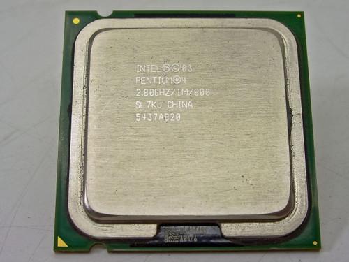 Intel  SL7KJ   P4 520 LGA775 LGA 775 2.8GHz CPU 2.8