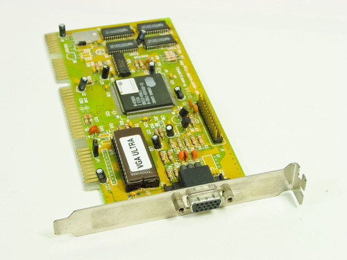 Cirrus Logic CL-GD5420-75QC-B   ISA Video Card MVGA-AVGA3