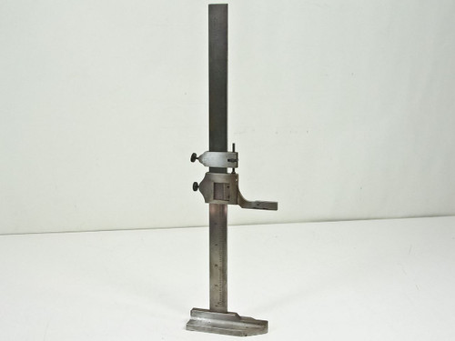 "L.S. Starrett Co.  454  12"" Vernier Height Gage"