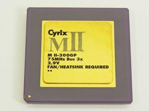 Cyrix  MII-300GP  75MHz Bus 3x 2.9V