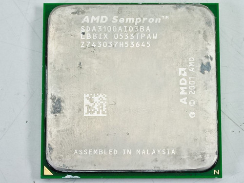 AMD  SDA3100AIO3BA  Sempron 1.8GHZ SKT-754 CPU