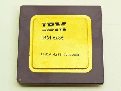 IBM IBM 6X86  CYRIX 686 IBM26 Gold Faced CPU