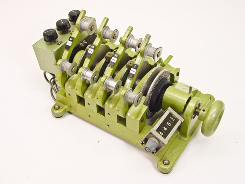 Ediquip 1034  4 Gang 16mm Film Synchronizer with Controller