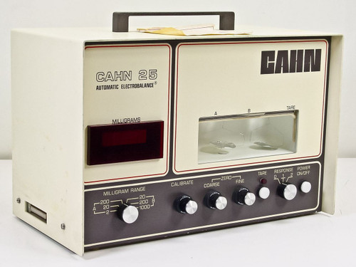 Cahn 25  Automatic Electrobalance Portable Micro-Balance 0.0001 MG Accuracy