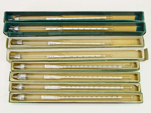 Taylor / Van Waters & Rogers VWR Lot of 8  Hydrometer
