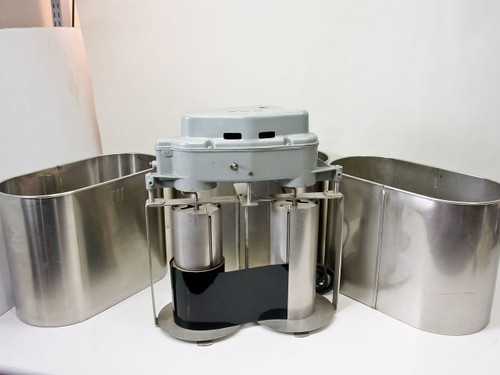 "The Morse Instrument Co. B 5  Large Format 10"" Portable Stainless Steel Film Developer with 2 Tanks"