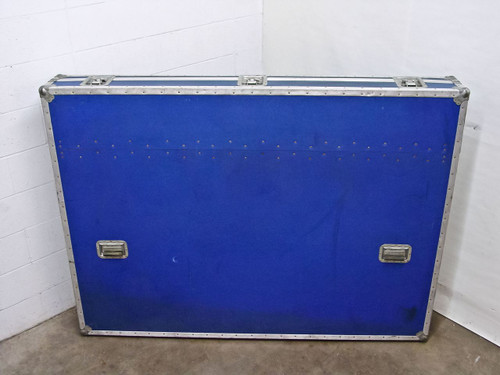Anvil 72l53h10w  Large Blue Padded ATA Flight Road Case for LCD TV