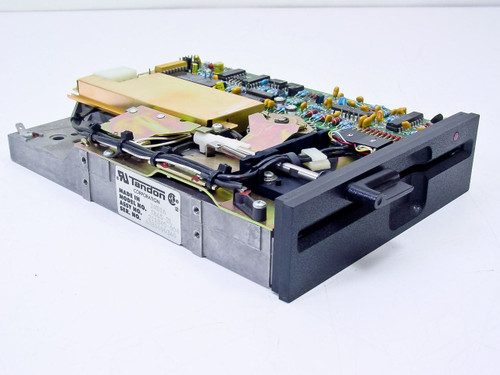 "Tandon  TM65-2L  5.25"" Internal Floppy Drive Vintage 360 Kb Black Face Plate"