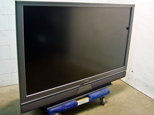 "Mitsubishi Electric WD - 62526   62"" HDMI Flat Screen Television - Crack in Screen"