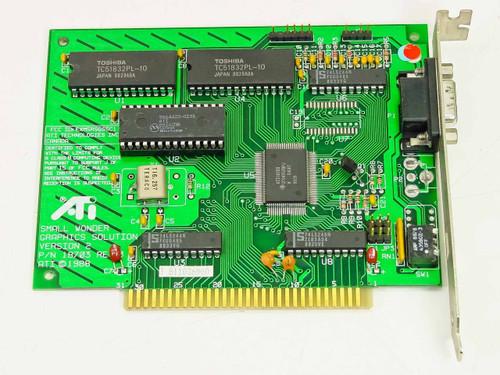 ATI 18703  Small Wonder CGA composite video card