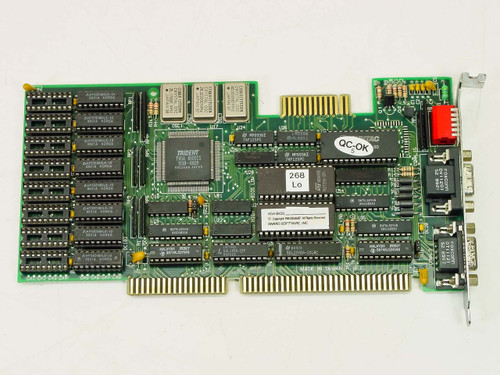 Trident 89-1627-1  ISA Video Card