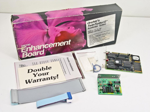 Orchid Twin Turbo 12  Enhancement Board Accelerator System in Box