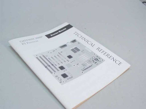 Gateway Pentium 5 2000 Technical Refrence Manual 8500830