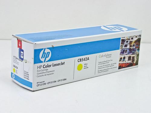 HP CB542A  Laserjet print cartridge - Yellow