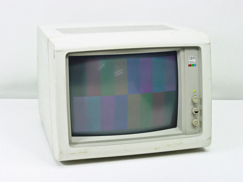 "IBM 5154-001  13"" EGA Enhanced Color Display Monitor"
