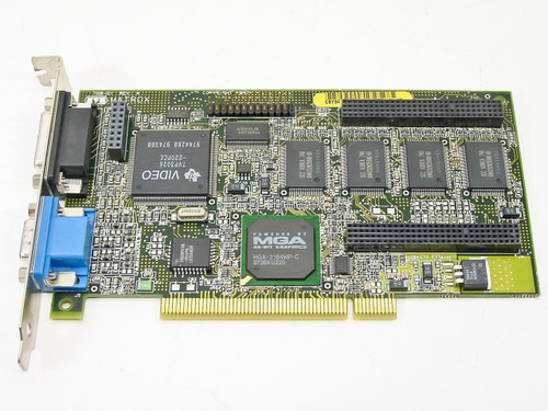 Matrox 708-01  4MB PCI VGA Video Card MIL2P