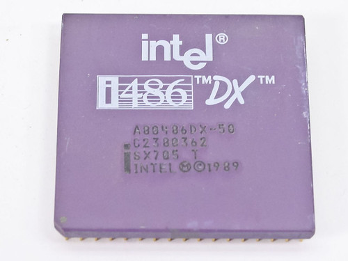 Intel SX705  486DX- 50MHz Processor
