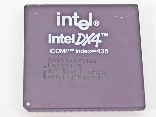 Intel SK051  DX4 Processor A80486DX4100