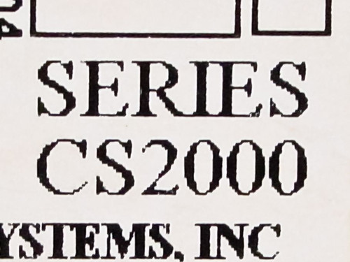 Accutime Systems CS2000  Stromberg Time Clock