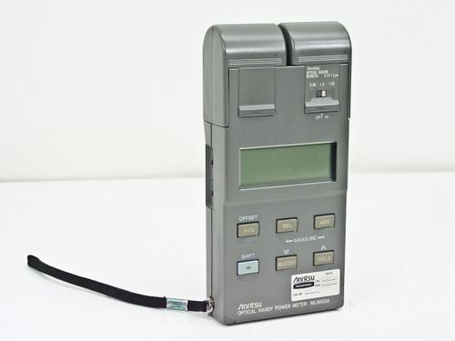 Anritsu ML9002A  Optical Handy Power Meter with MA9621A Optical Sensor