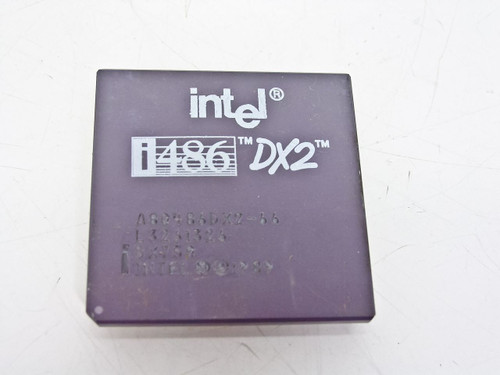 Intel  SX750  486DX2/66 Processor A80486DX2-66
