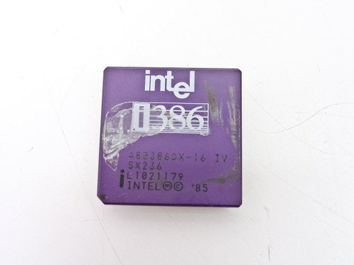 Intel SX236  386Mhz A80386DX-16