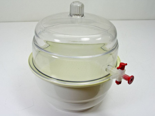 "Bel-Art Products Scienceware 9""  Desiccator with Valve"
