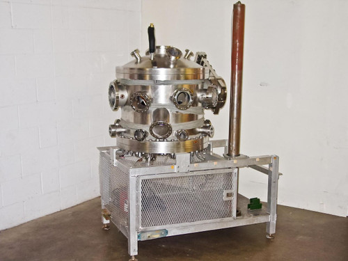 MDC Thermal Evaporator  Stainless Steel Research Vacuum Chamber with Stand