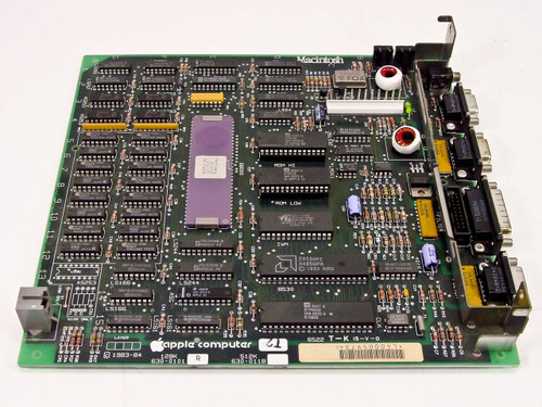 Apple 630-0101  128K Logic Board Motherboard