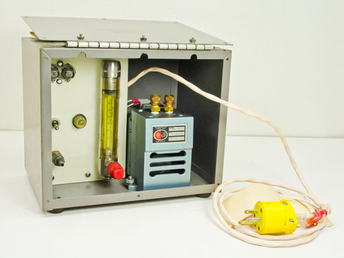 Cams  X52-40 Flow Meter  Metal Bellows Pump, Wallace SCFH Meter