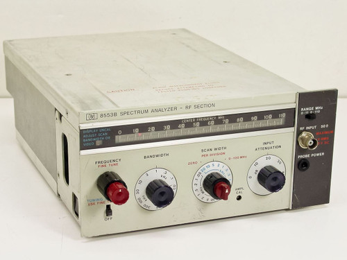 HP 8553B  Spectrum Analyzer RF