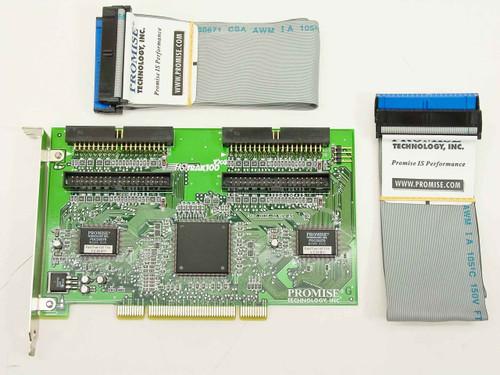 Promise TX4   Fasttrak 100 ~ PCI 4 Port IDE Controller Card w/ C