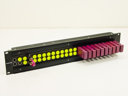 "Canare  DVJ-S  24 Dual Port patch Panel 19"" rackmount"