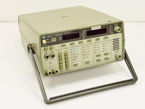 HP 4935A  Transmission Test Set w/ option 003, 115V input power