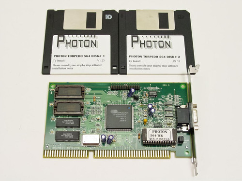 Photon 564-TEK  Torpedo Video Card - 16 Bit ISA