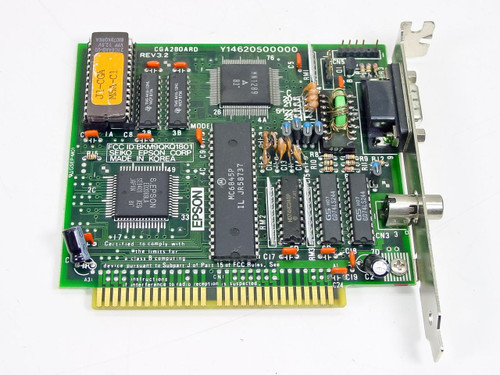 Epson A105A  CGA 8-Bit ISA Video Card - Short