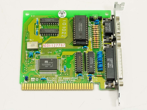 DTK PII-143C  V3 Monochrome Graphic Printer Card