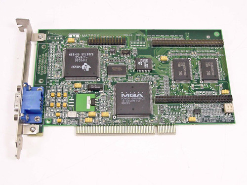 Matrox 576-04 Rev A  MGA-MIL/2/GAT2 PCI Video Card