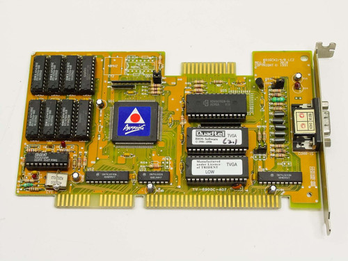 Trident 8916CX2/4/8 LC2 Rev A  ISA Video Card