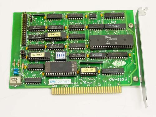 Kouwell  KW-530 D  Floppy drive controller 8-bit ISA