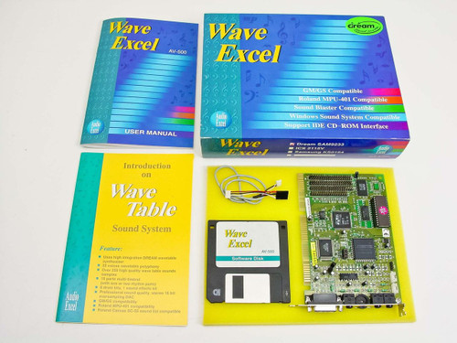 Audio Excel Dream SAM9233  Wave Excel ISA sound card