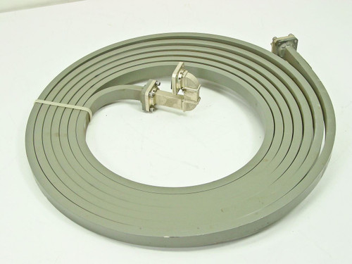 Micro~Coax Components WR-62  Wave Guide Ku band 12.4 to 18.0GHz, 20' Delay Line