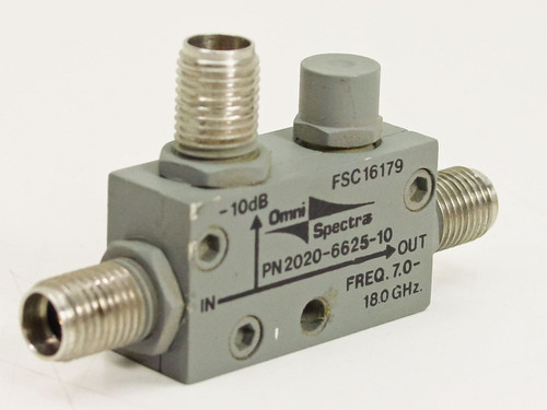 Omni-Spectra 2020-6625-10  7.0~18GHz Directional Coupler
