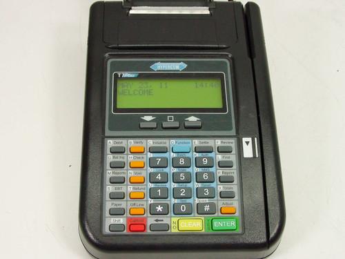 Hypercom T7plus  Credit Card terminal w/ printer 010218-012 ZK