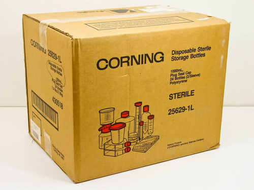 Corning 25629 - 1L  Disposable sterile storage bottles - box of 24