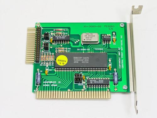 Vtech 35-3080-02 Rev. 703083CS  8 Bit ISA Floppy Drive Controller - Edge Connector