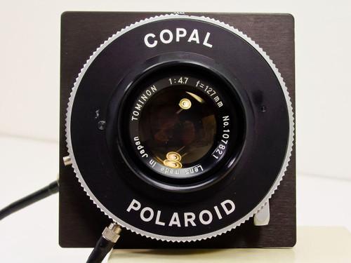 Polaroid MP-3 216  Tominon 5in. / 127mm Lens w/ Copal Shutter