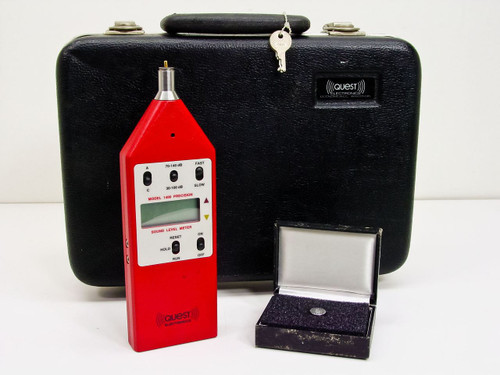 Quest  Model 1400  Precision Sound Level Meter w/4146 tip