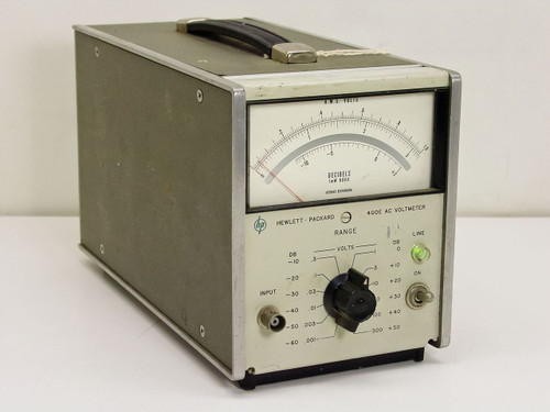 HP 400E  USED AC Voltmeter - Complete As Is