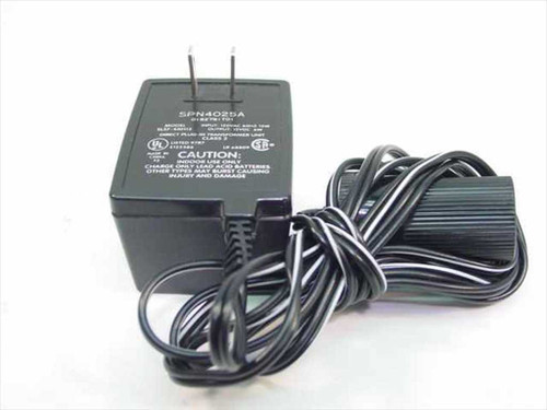 Motorola AC Adapter 12VDC 400mA (SPN4025A)